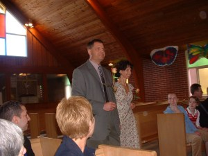 April 19, 2003. Lynn Valley United Church