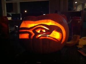 SeahawksPumpkin