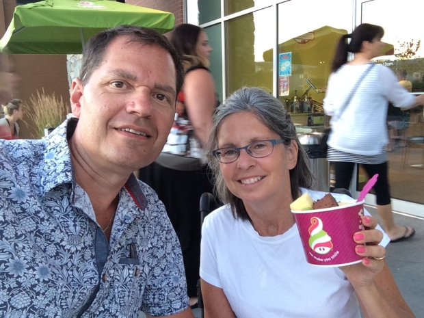 First Menchie's #selfie